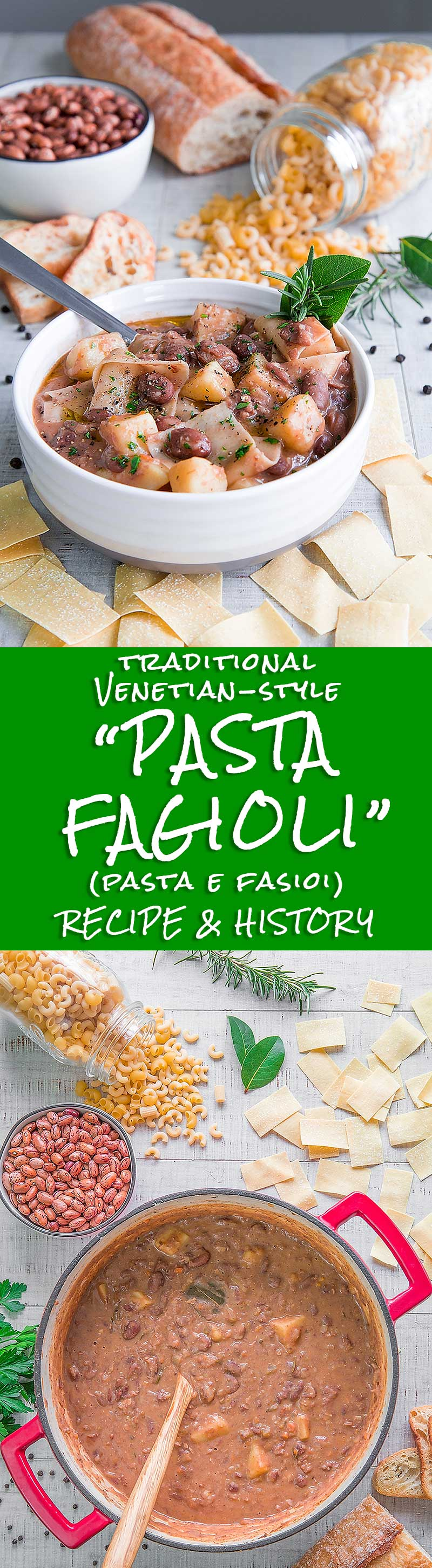 PASTA FAGIOLI VENETIAN-STYLE recipe & history - all you need to know!