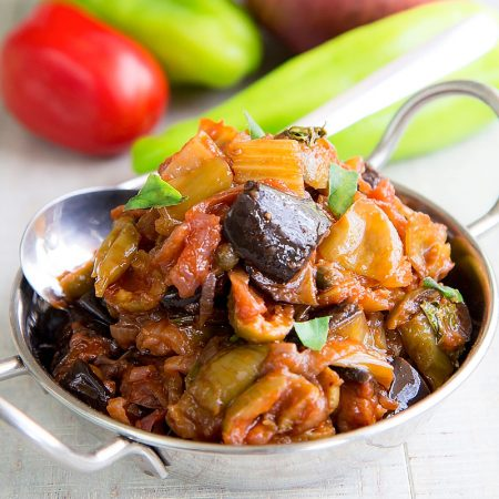 CAPONATA AGRIGENTINA - sweet and sour Sicilian appetizer