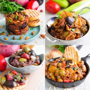 SICILIAN CAPONATA: history and 4 traditional recipes - all you need to know!