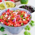 PICO DE GALLO RECIPE & HISTORY - Traditional Mexican salsa!