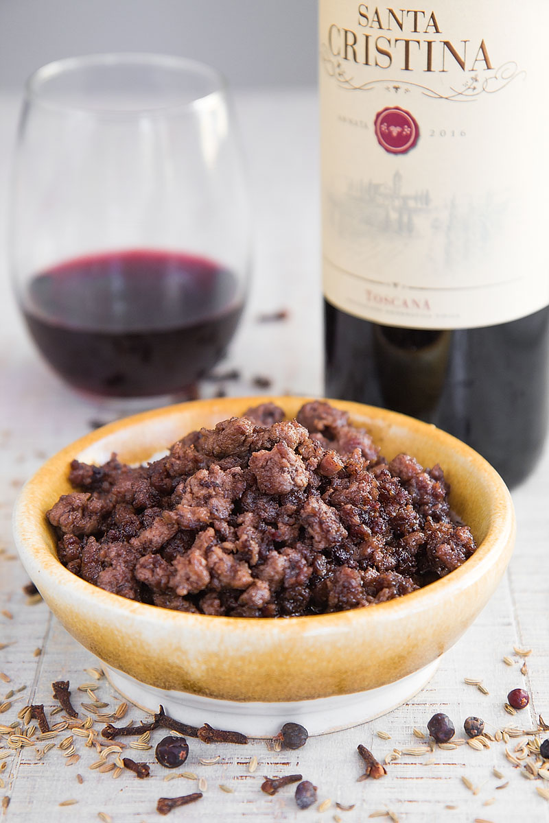 WINE PAIRINGS: IGT ROSSO SANTA CRISTINA MEETS LAMB RAGU PAPPARDELLE