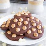 ITALIAN COCOA FROLLINI COOKIES RECIPE with white chocolate chips