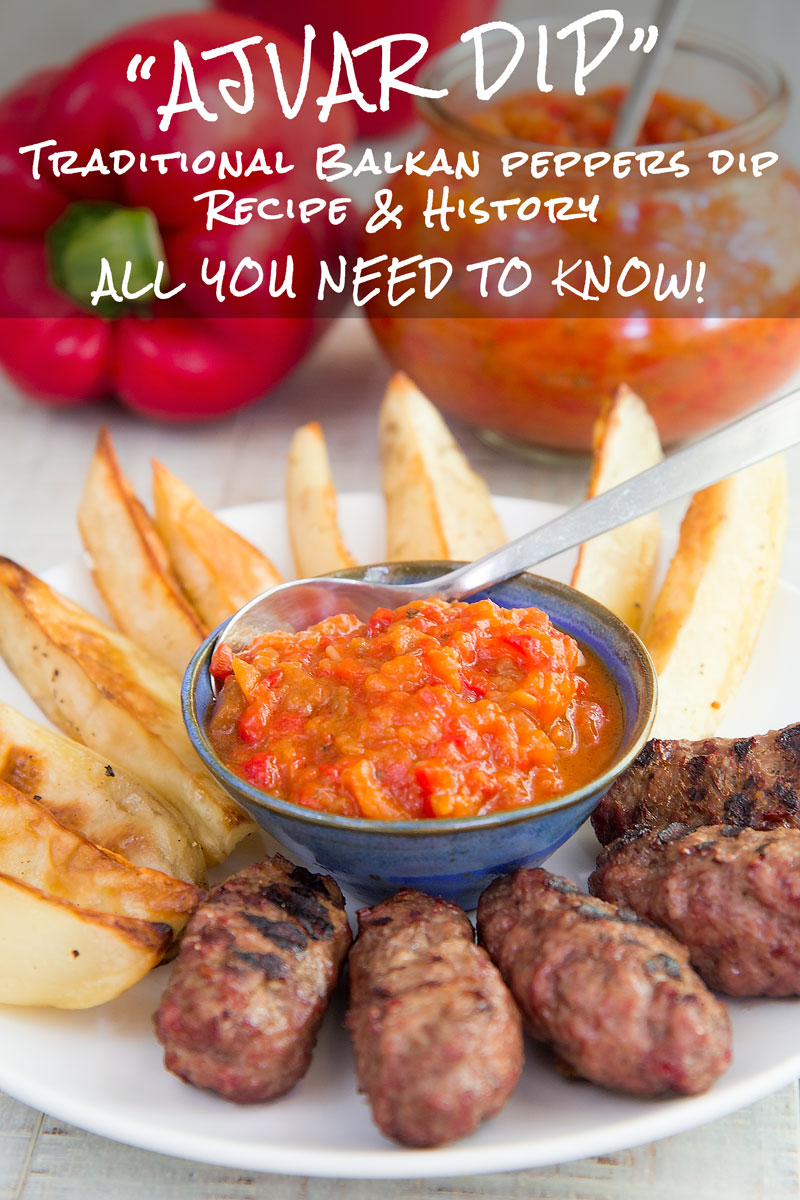 AJVAR RECIPE: Balkan bell peppers dip - all you need to know!