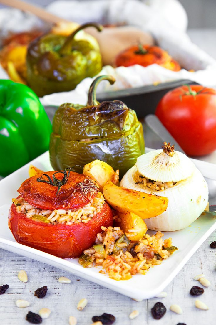 GEMISTA RECIPE - Greek stuffed vegetables: all you need to know!