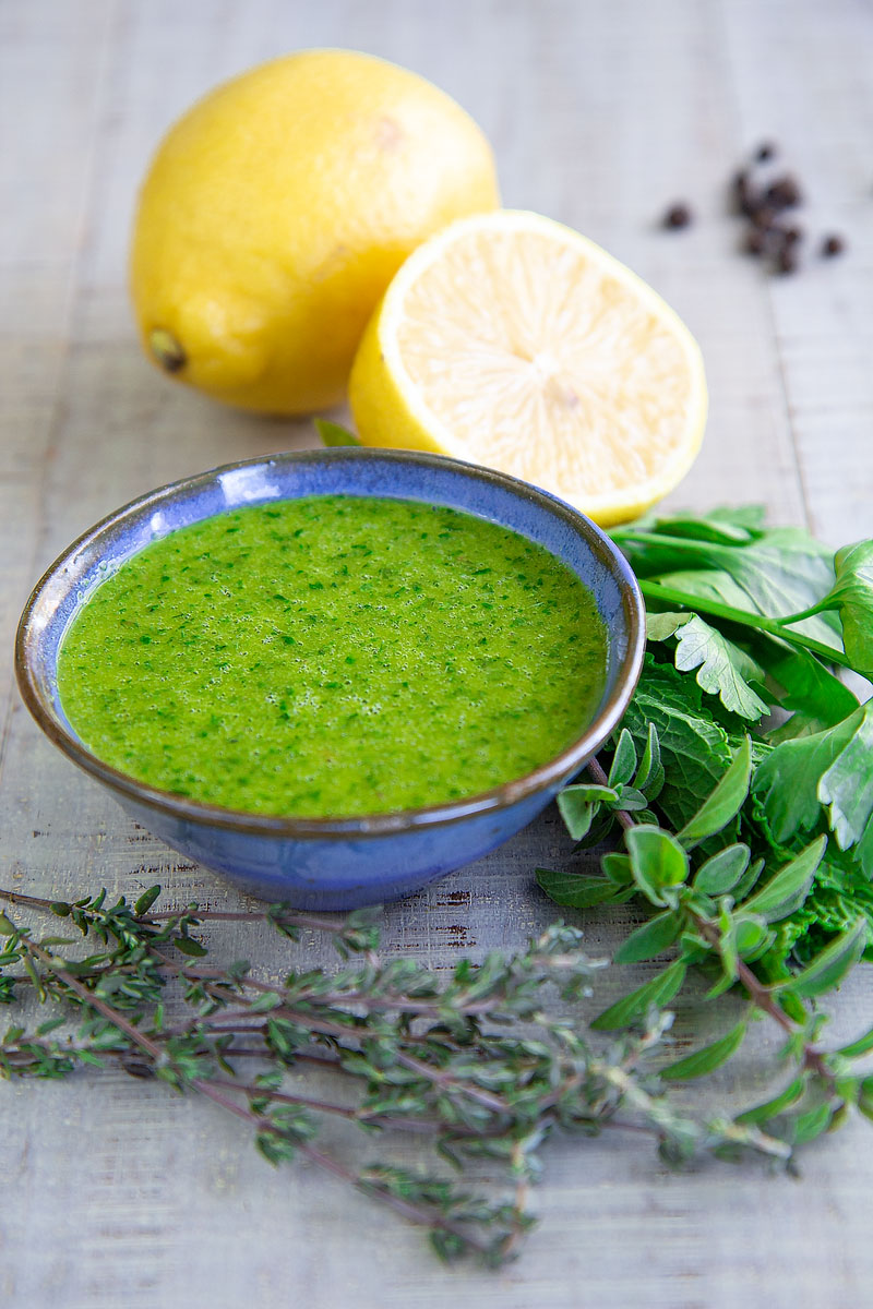 CALAMARI SALAD with fresh herbs Salmoriglio - Healthy and Tasty!
