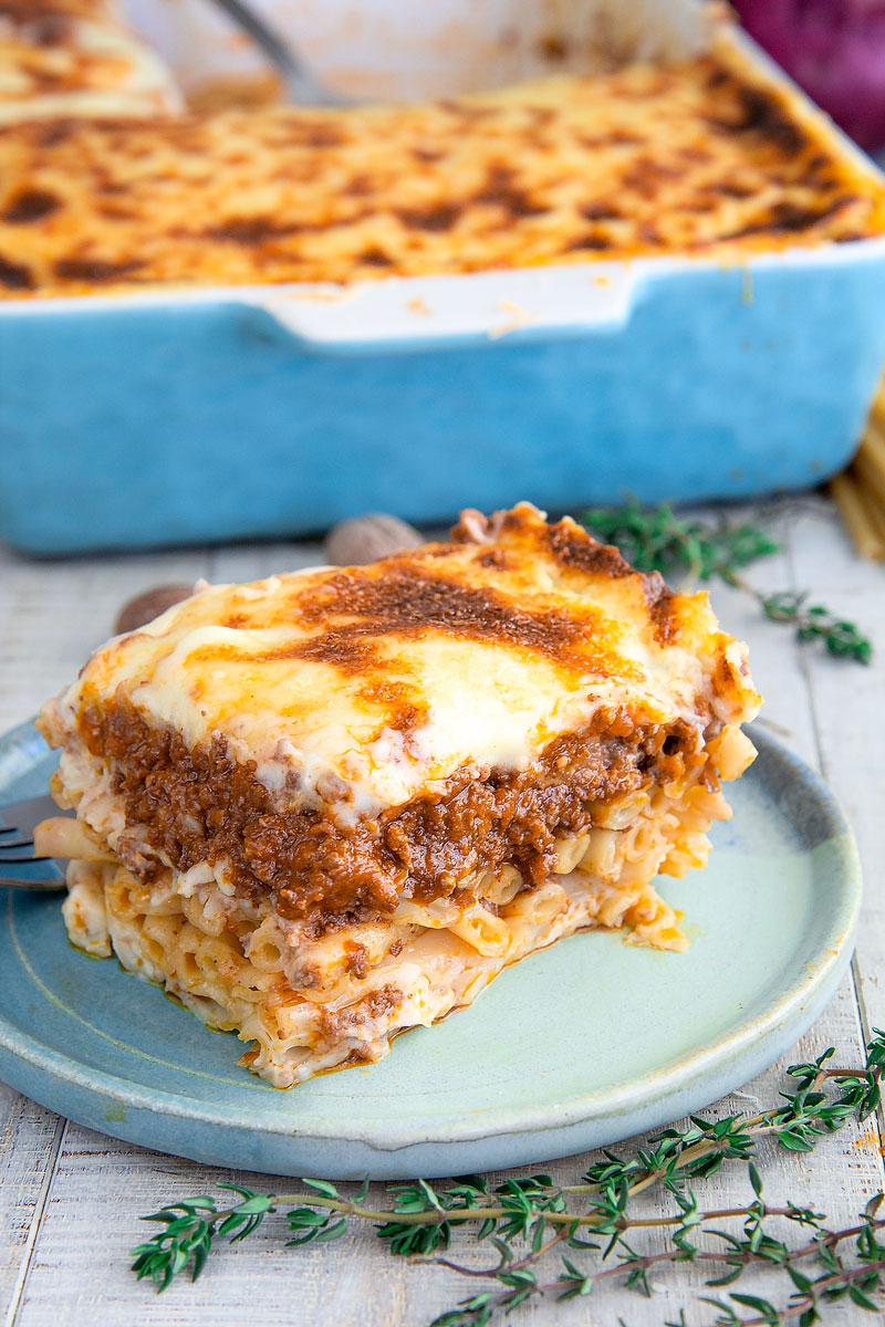 PASTITSIO RECIPE & HISTORY: Greek baked ziti - all you need to know!