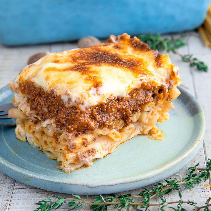 PATITSIO RECIPE & HISTORY: Greek baked ziti - all you need to know!