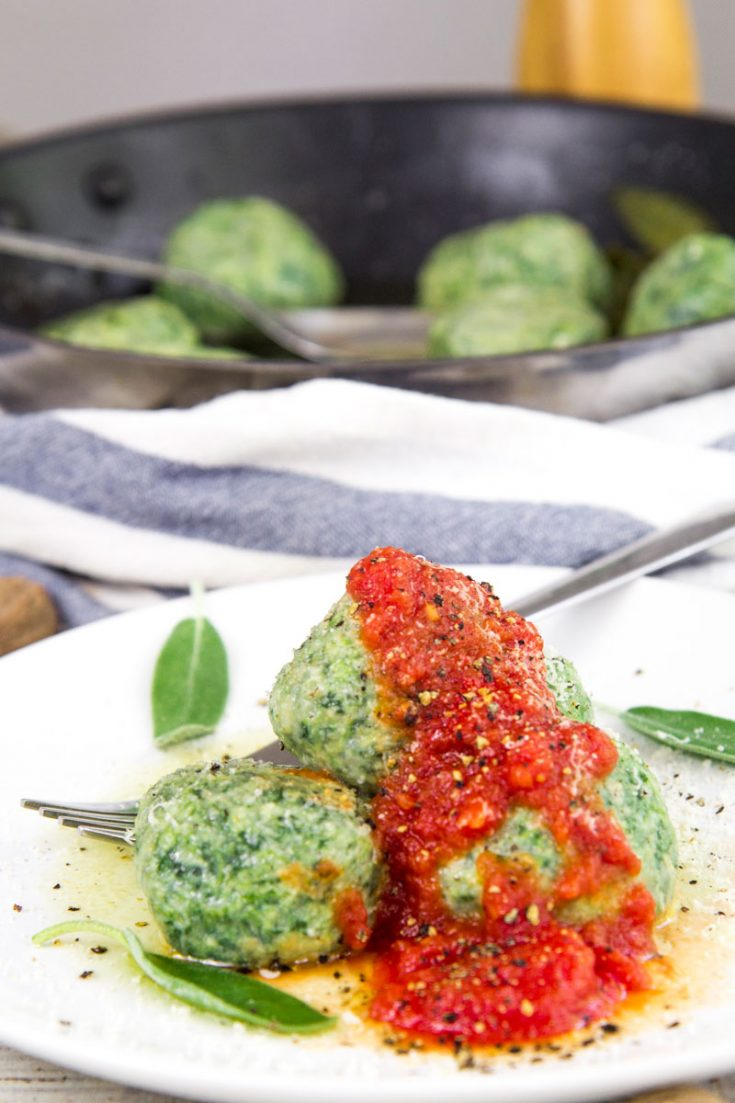 GNUDI RECIPE - Traditional Tuscan dumplings with spinach and ricotta