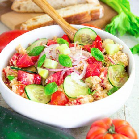 PANZANELLA SALAD RECIPE AND HISTORY - Traditional bread salad