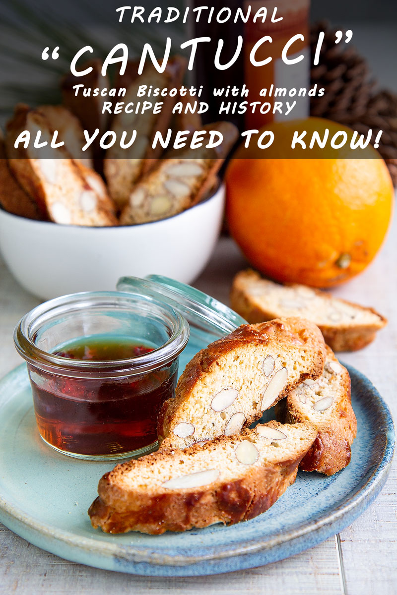 TUSCAN CANTUCCI traditional recipe & history - all you need to know!