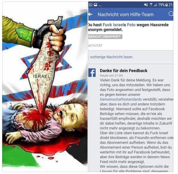 facebook antisemitismus
