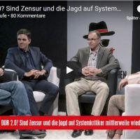 DDR 2.0: Sind Zensur und Jagd auf Systemkritiker mittlerweile wieder Alltag in Deutschland?