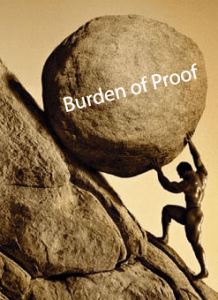 %name burden of proof