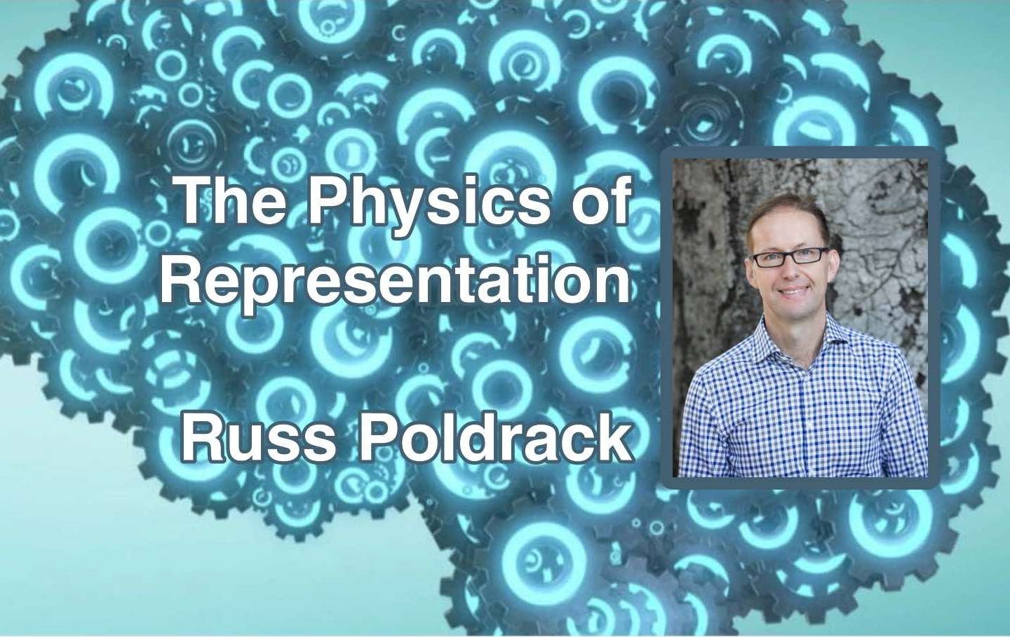 "Russ Poldrack will live-stream ""The Physics of Representation"" Friday"