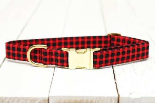 Plaid Dog Collar
