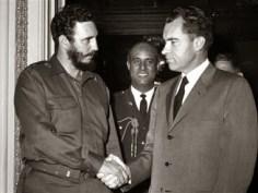Castro with Nixon