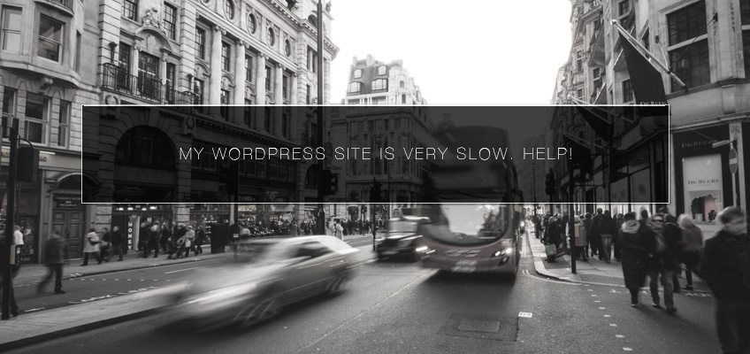 My WordPress Site Is Very Slow. Help!