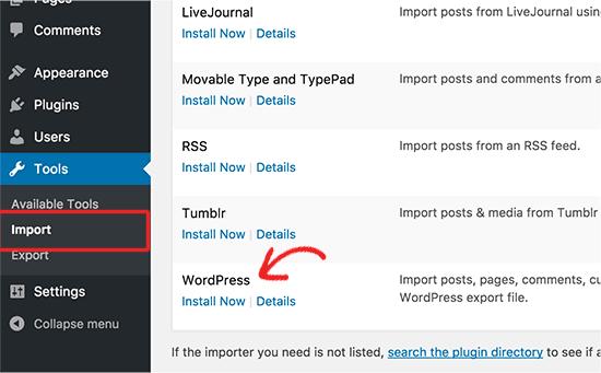 merge two WordPress sites 2