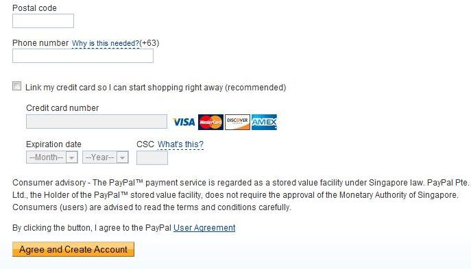 Can you make a paypal account with a debit card / Peoples