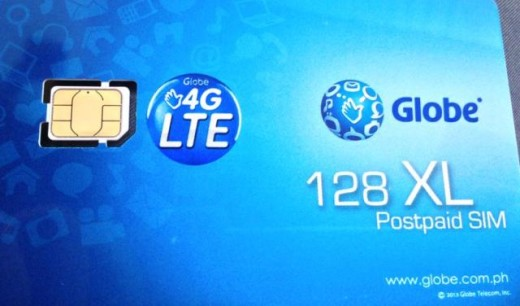 activate globe nano sim 4g lte iphone 5