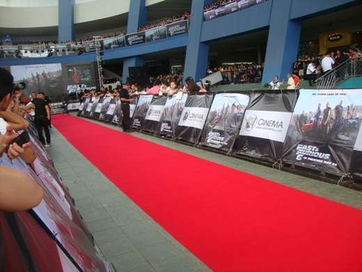 fast and furious 6 manila red carpet