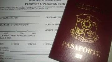 passport requirements dfa pampanga