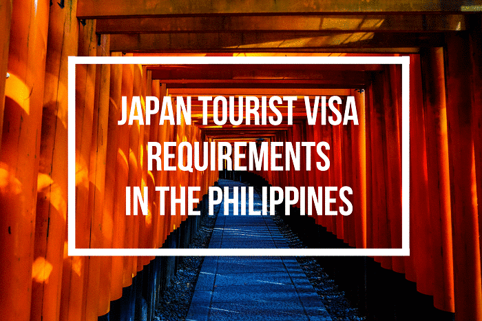 japan tourist visa requirements for filipinos