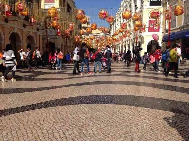 famous streets macau
