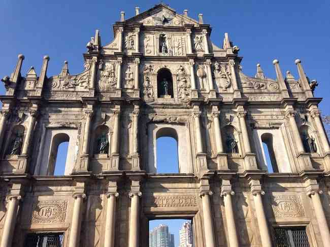 ruins of st paul macau