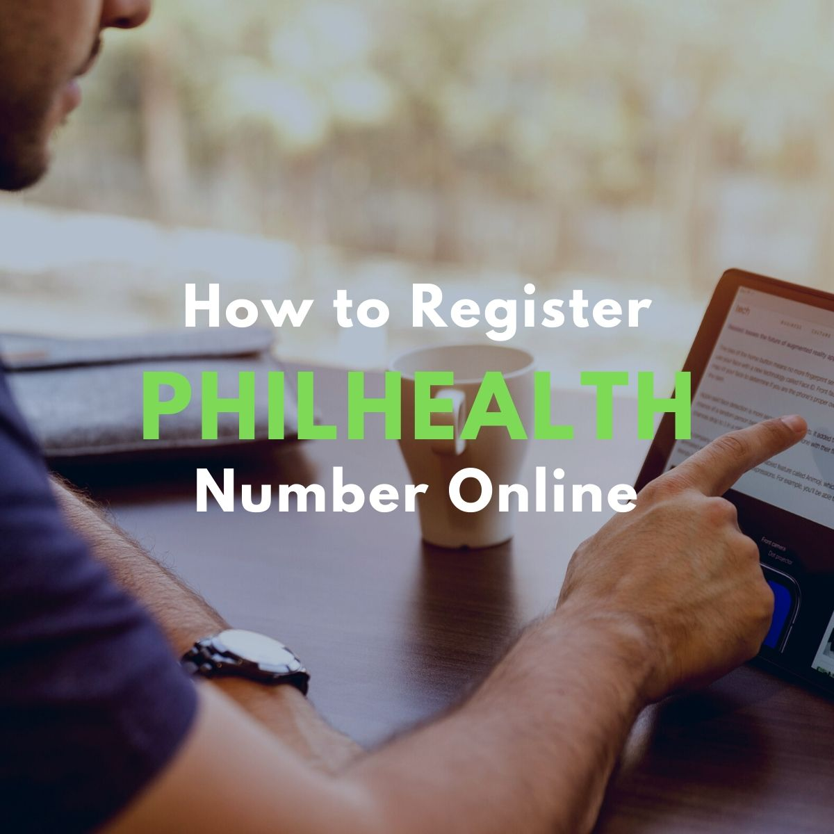 how to register philhealth number online