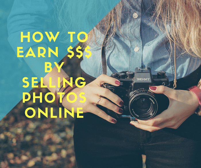 How to Earn Money – Dollars and Euros by Selling Photos Online