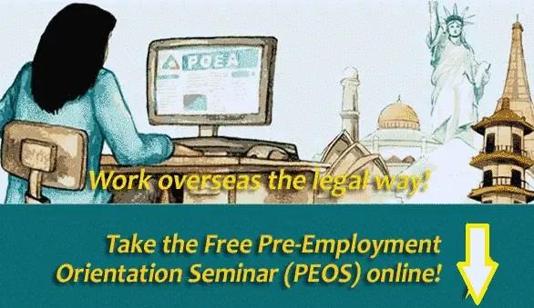 pre-employment orientation seminar online