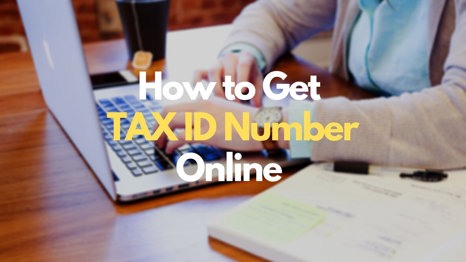 how to get tin number online