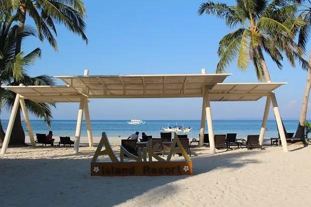 anika beach bantayan island