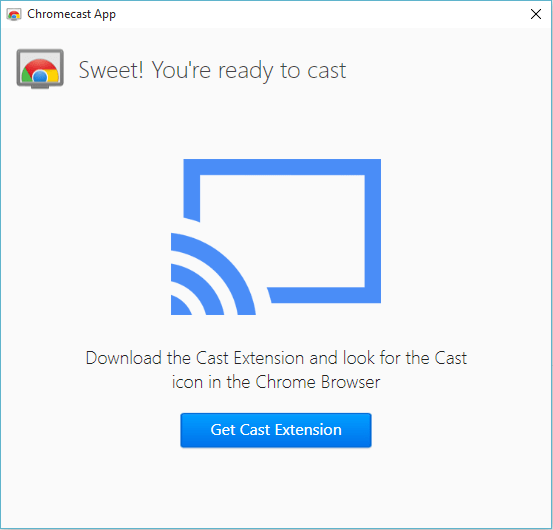 chromecast installation tv