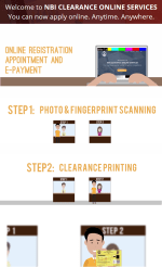 nbi clearance online application process steps requirements