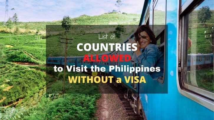 list of countries allowed to visit the philippines without tourist visa