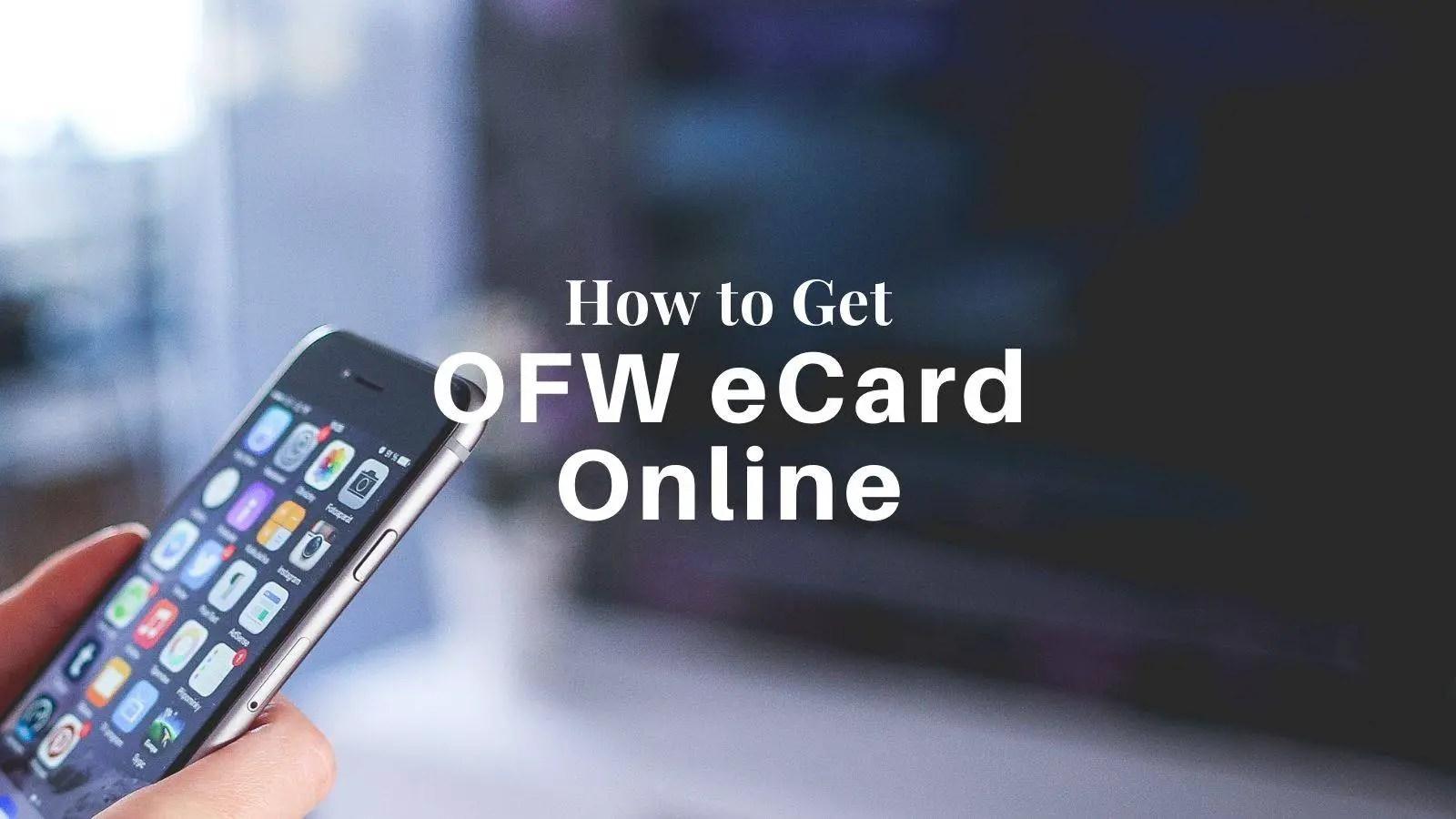 how to get ofw ecard online
