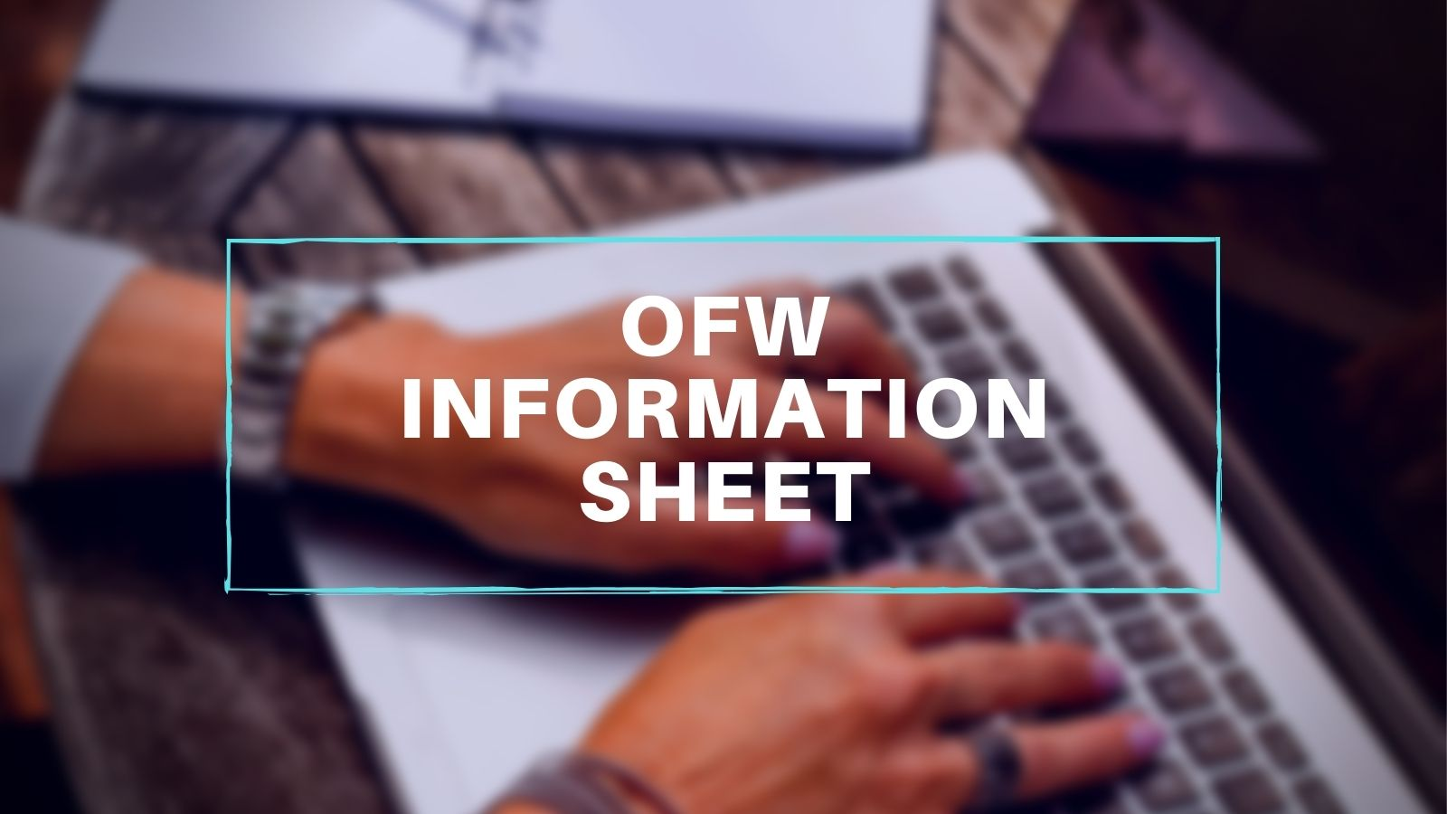 how to get ofw information sheet online in poea