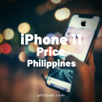 iphone 11 price philippines