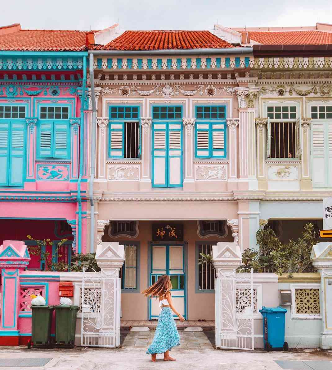 colorful houses singapore