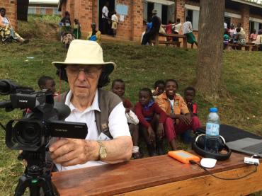 phil Pendry in Uganda