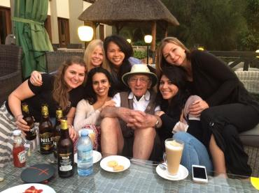 phil pendry with the girls