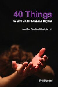 40 Things to Give up for Lent Cover