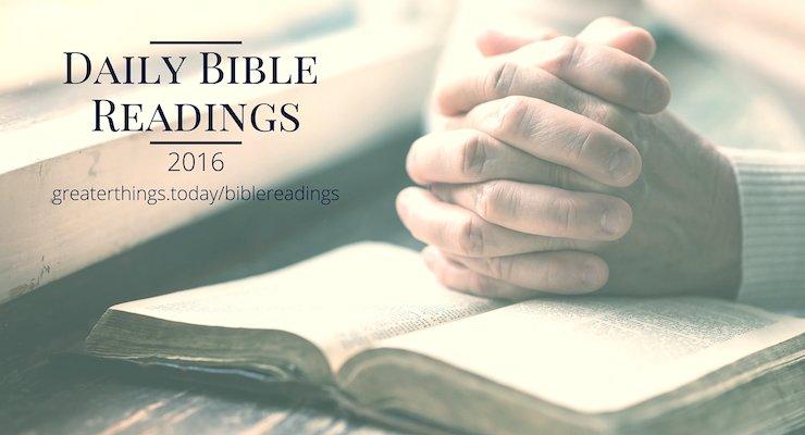 Bible Readings Archives - philressler.com