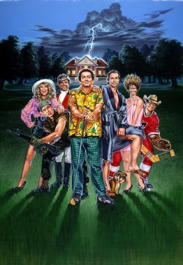 Caddy Shack II-1 Movie Poster Composition by Phil Roberts