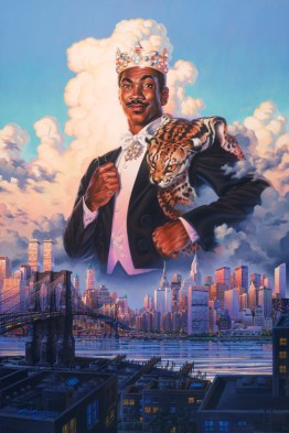 Eddie Murphy Coming to America Movie Poster by Phil Roberts