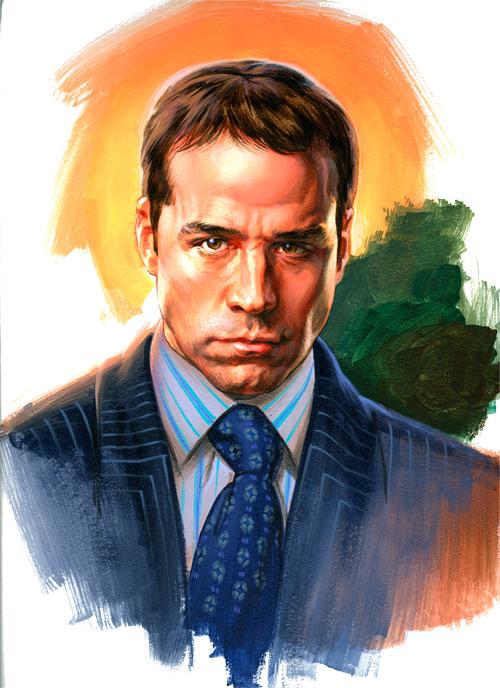 Portraits Phil Roberts Art