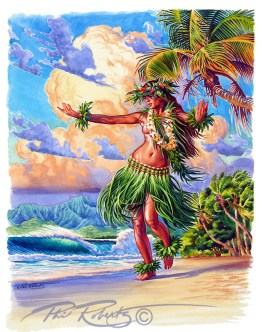 hula-girl-island-painting-phil-roberts