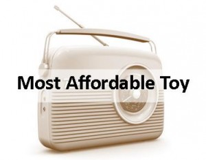 Radio Most Affordable Toy